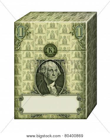 Dollar Cigarette Package