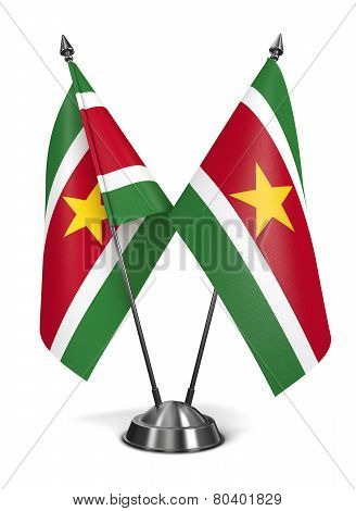 Suriname - Miniature Flags.