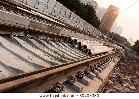Railroad Under Construction