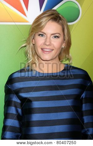LOS ANGELES - DEC 16:  Elisha Cuthbert at the NBCUniversal TCA Press Tour at the Huntington Langham Hotel on December 16, 2015 in Pasadena, CA