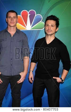 LOS ANGELES - DEC 16:  Brendan Fehr, Freddy Rodriguez at the NBCUniversal TCA Press Tour at the Huntington Langham Hotel on December 16, 2015 in Pasadena, CA