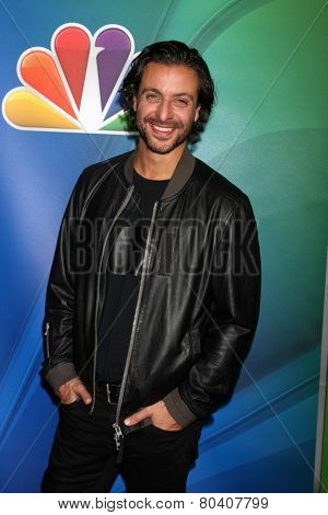 LOS ANGELES - JAN 16:  Adam Levy at the NBC TCA Winter 2015 at a The Langham Huntington Hotel on January 16, 2015 in Pasadena, CA
