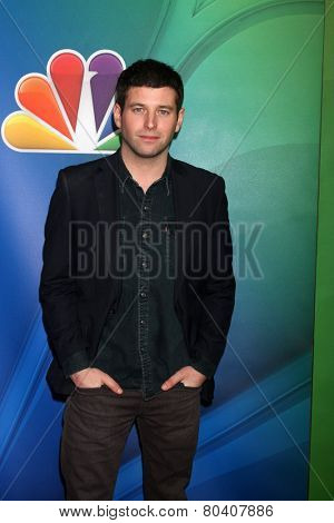 LOS ANGELES - DEC 16:  Brent Morin at the NBCUniversal TCA Press Tour at the Huntington Langham Hotel on December 16, 2015 in Pasadena, CA