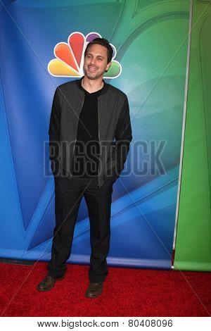 LOS ANGELES - JAN 16:  Jonathan Sadoski at the NBC TCA Winter 2015 at a The Langham Huntington Hotel on January 16, 2015 in Pasadena, CA