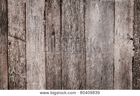 Wood Texture Decorative Fence Wall Surface