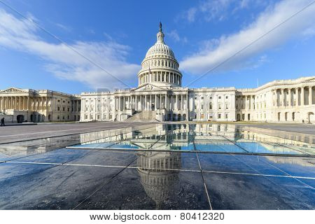 United States Capitol Building East facade - Washington DC, USA