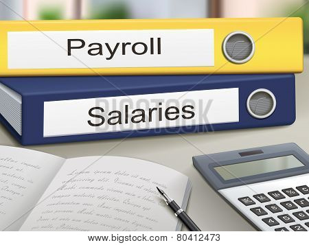 Payroll And Salaries Binders