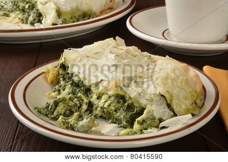 Spinach And Kale Pie