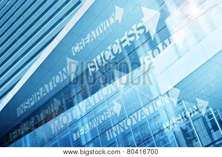 Success Arrow Direction Concept