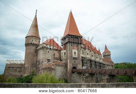 The Hunyad Castle, Hunedoara, Transylvania, Romania