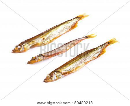 Goldish three anchovies.