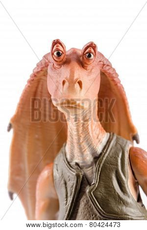 Jar Jar Binks portrait