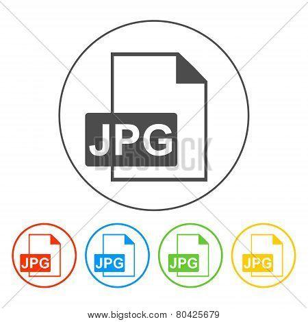 Jpg Icon File Vector
