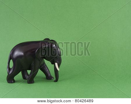 The figure of an elephant