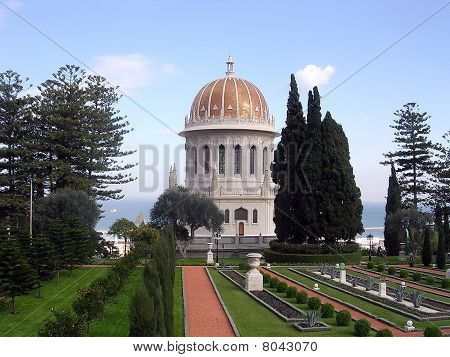 Haifa Bahai Gardens And Golden Dome 2003