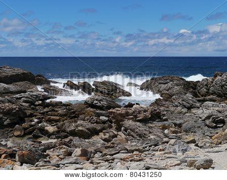 The south coast of Kangaroo island in Australia