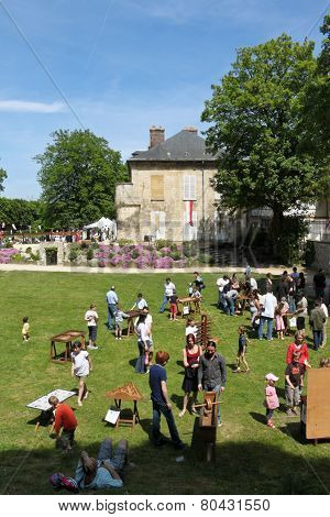 Medieval Fest In Compiegne