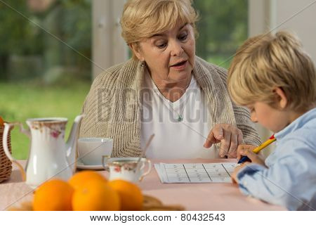 Little Boy And His Granny