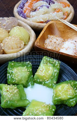 Vietnamese Street Food, Sweet Cake