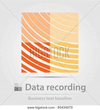 Data Recording Business Icon