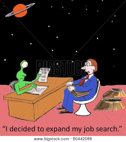 Expand Job Search