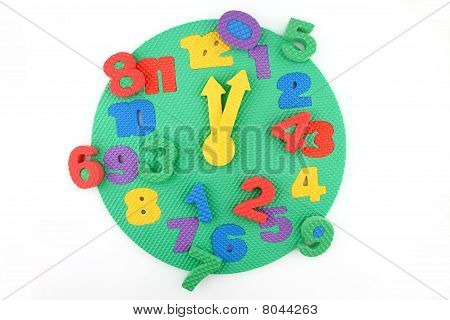 toy clock with time disorder