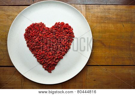 Gaji berries heart