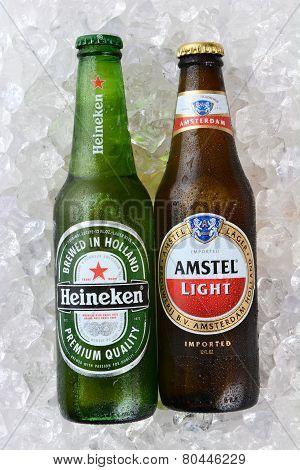 Heineken And Amstel On Ice Vertical