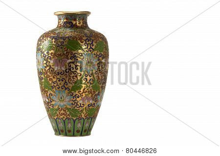 Ancient bronze vase