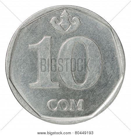 Kyrgyz Som Coin Ten