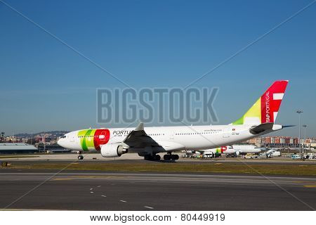 Tap portugal flight