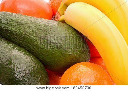 Close Up Of Exotical Fruit