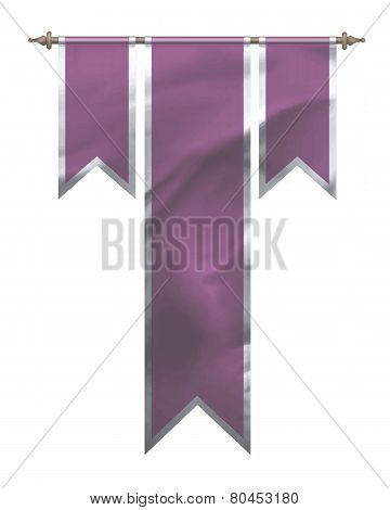 Pink Triple Flag