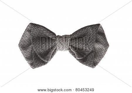 little dark bow tie for decoration