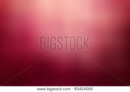 Abstract Red Background With Bokeh Defocused Lights And Shadow