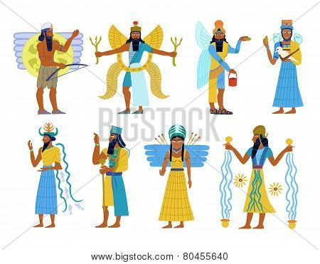 Ancient Babylonian gods