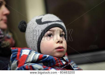 Boy In Bus