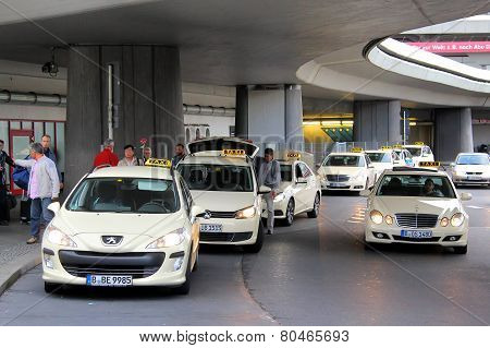 Taxi Cars In Berlin