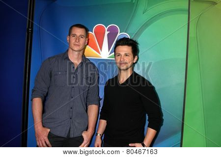 LOS ANGELES - JAN 16:  Brendan Fehr, Freddy Rodriguez at the NBCUniversal TCA Press Tour at the Huntington Langham Hotel on January 16, 2015 in Pasadena, CA
