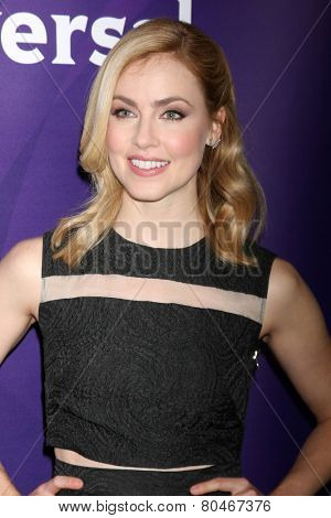 LOS ANGELES - DEC 15:  Amanda Schull at the NBCUniversal Cable TCA Press Tour at the Huntington Langham Hotel on December 15, 2014 in Pasadena, CA