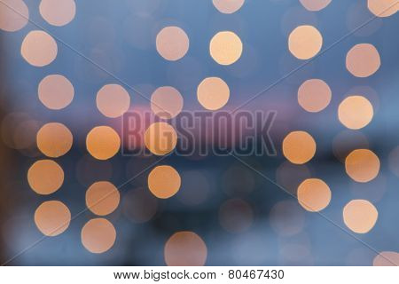 Stylish Blurred Blue Background