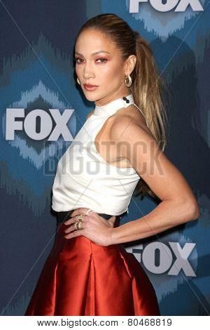 LOS ANGELES - JAN 17:  Jennifer Lopez at the FOX TCA Winter 2015 at a The Langham Huntington Hotel on January 17, 2015 in Pasadena, CA