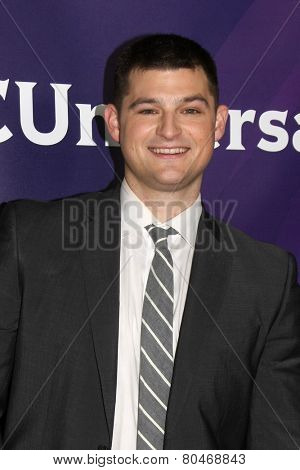 LOS ANGELES - JAN 15:  Kevin Bigley at the NBCUniversal Cable TCA Winter 2015 at a The Langham Huntington Hotel on January 15, 2015 in Pasadena, CA