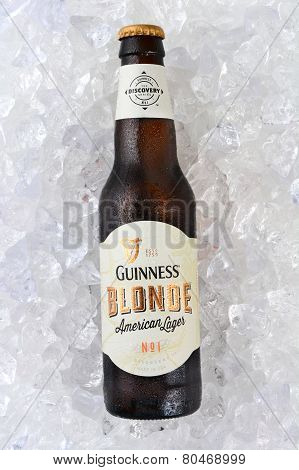 Guinness Blonde On Ice Vertical