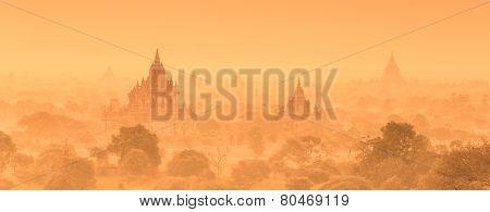 Temples of Bagan, Burma, Myanmar, Asia