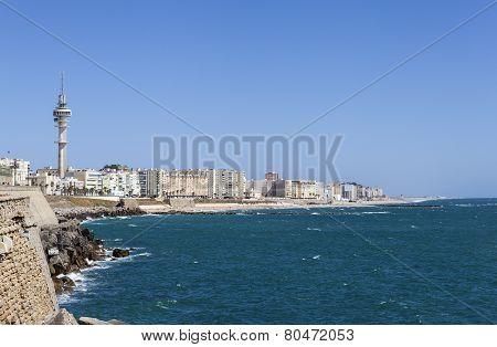 Quay Campo del Sur. Cadiz. Spain.