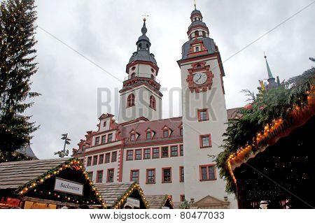 The Christmas market in Chemnitz