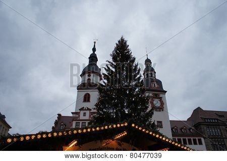On the Christmas market