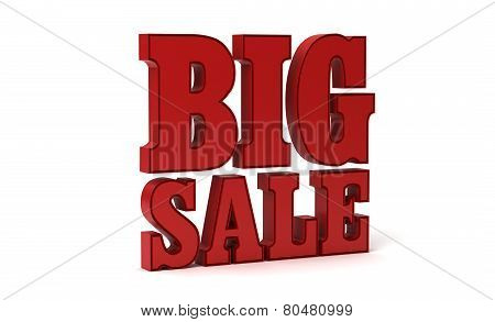 Big sale promotion 3d
