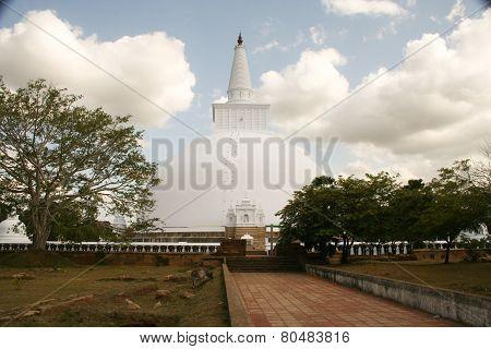Dagoba, Pagoda And Temple Ruwanweliseya